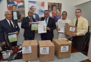 MINERD entrega material de orientación sobre coronavirus a federaciones