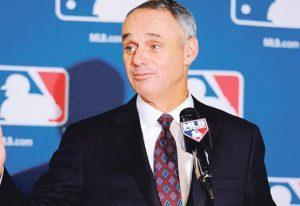 Comisionado proyecta inicio de las Grandes Ligas en mayo