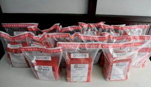 OVIEDO: Decomisan 89 paquetes de cocaína y apresan a cuatro