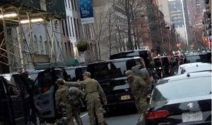 Ejército EU entra a Nueva York para convertir los hoteles en hospitales