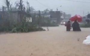 Elevan a 20 provincias en alerta por lluvias, decenas viviendas afectadas