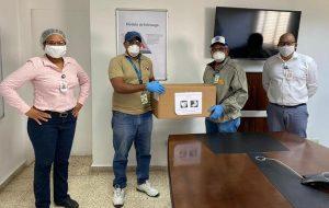 Sector de Zona Franca dona más de 2 mil mascarillas a Salud Pública