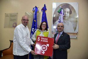 Ministerio de la Mujer y la OIM firman convenio de cooperación
