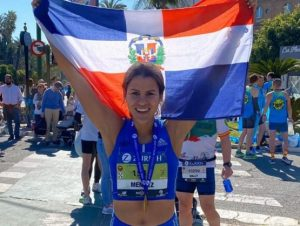 Natasha Méndez: tercera maratonista de la RD más rápida de la historia