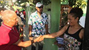 Candidato a alcalde del PCR en Boca Chica activa proselitismo
