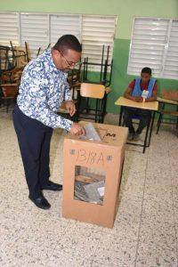 SDN: René Polanco elogia comportamiento de los votantes