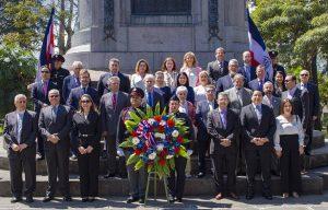 COSTA RICA: Embajada Dominicana conmemora el Mes de la Patria