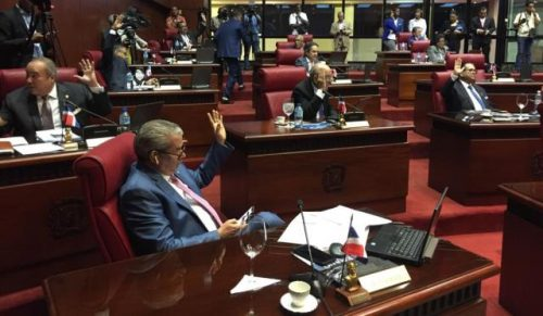 Senado aprueba declaración de emergencia nacional por 25 días