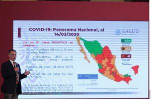 MEXICO: Aumentan a 41 los casos de coronavirus