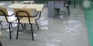 PUERTO PLATA: Suspenden docencia por inundaciones en escuelas