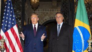EEUU: Trump y Bolsonaro dialogan de Venezuela, comercio y Huawei