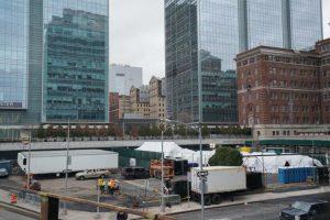 N. York instala morgue improvisada por virus en el mismo sitio que el 11S