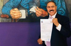 Yomare Polanco inscribe candidatura diputado ultramar circunscripción 1