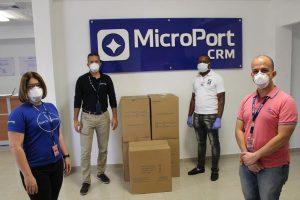 Clúster de Zonas Francas dona 50 mil mascarillas para combatir COVID-19