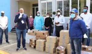 NAGUA: Alexis Victoria Yeb dona RD$10 millones en combate COVID-19