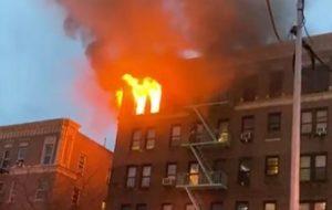 Mueren cuatro mujeres en incendio frente al hospital Lebanon en El Bronx
