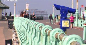 LONDRES: Buen tiempo abre tentaciones en la cuarentena
