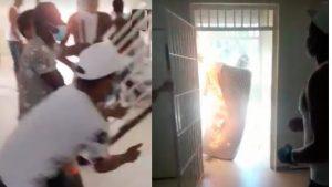 Procuraduría dice no hubo muertos en el motín de la cárcel La Victoria