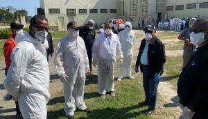 Intervienen La Victoria por COVID-19, SP hará prueba a mil reclusos
