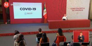 México registra 17 fallecidos por Covid-19 en 24 horas