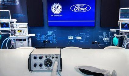 Ford y GE Healthcare producirán 50 mil ventiladores para tratar COVID-19
