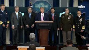 Trump anuncia operación marítima y  aérea antinarcóticos en el Caribe