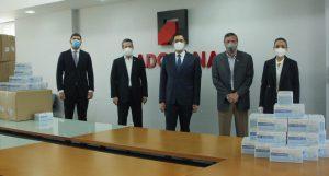 ADOZONA dona 45 mil mascarillas para colaborar contra el COVID-19