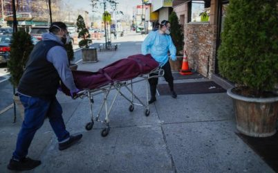 Casi 1,400 hispanos han muerto en la Ciudad de Nueva York por Covid