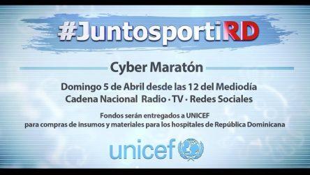 "Newlink apoya cibermaratón ""Junto a ti RD"""