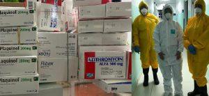 PRM entrega medicinas y equipos médicos en La Vega contra COVID-19