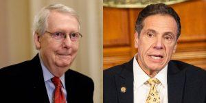 Líder Senado pide que NY se declare en bancarrota; gobernador furioso