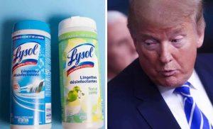 """Casos """"exposición"""" a desinfectantes se triplican tras la sugerencia de Trump"""