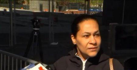 Madre de Lesandro Guzmán se une a trabajadores contra Covid-19