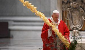Papa inaugura Semana Santa; pide valentía para enfrentar la Covid-19