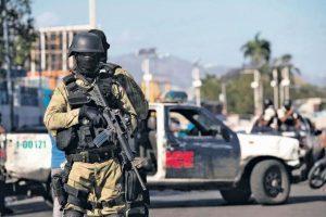 Policía Haití en estado alerta máxima