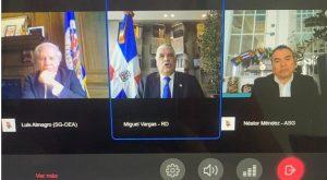 Canciller propone en OEA negociar deuda externa y crear fondo especial