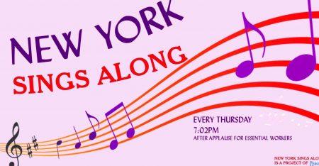 Nueva York se entretiene con un concurso de canto desde balcones