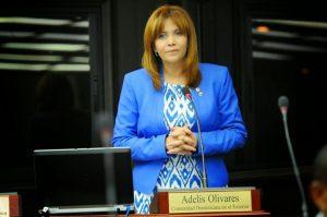 Diputada Adelys Olivares defiende voto del dominicano en el exterior