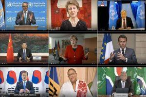 OMS realiza su 73 Asamblea Mundial;COVID-19 acapara las intervenciones