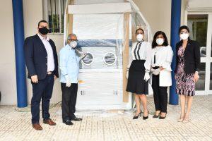 Laboratorio Nacional recibe tres cabinas de bioseguridad