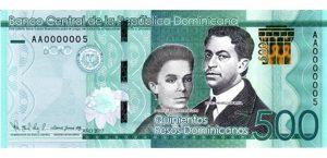 Banco Central informa en junio circulará nuevo billete de RD$500.00