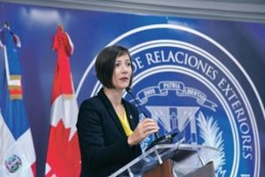 Canadá dará asistencia a República Dominicana para enfrentar Covid-19