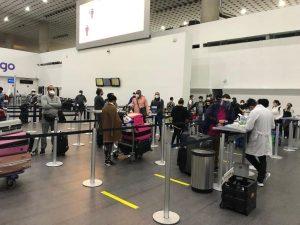 Llegan 125 dominicanos estaban varados en México, Japón y Brasil