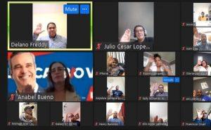 BELGICA: Juramentan comando de campaña de Luis Abinader