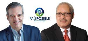 EU: Dirigentes PRD anuncian apoyo a Abinader a través País Posible