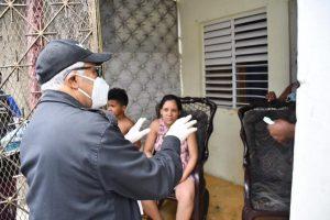 Autoridades entregaron 450,000 mascarillas en Gran Santo Domingo