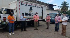 INESPRE vende pollos y quesos en bodegas móviles por todo el país