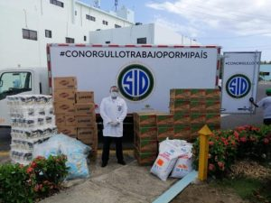 Grupo SIDdona alimentos al Hospital Ramón de Lara de San Isidro