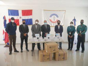 Gonzalo dona 5 mil mascarillas al Colegio de Abogados de la RD