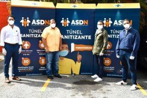 CODESSD dona túneles sanitizantes al ayuntamiento Santo Domingo Norte